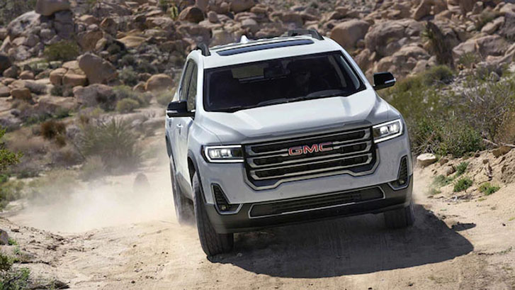 2021 GMC Acadia AT4 performance