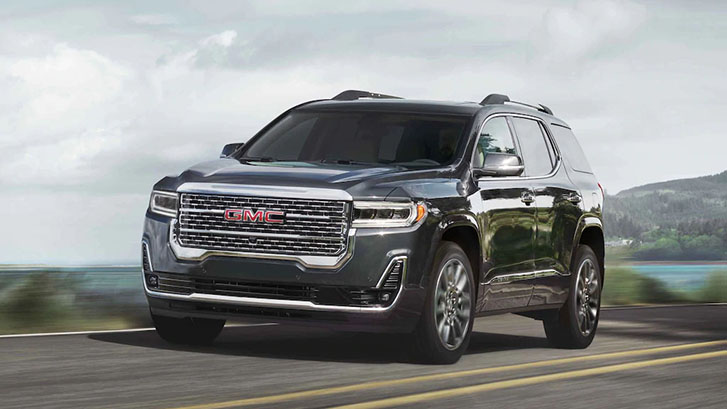 2021 GMC Acadia Denali performance