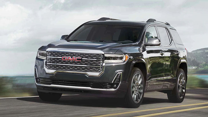 2021 GMC Acadia performance