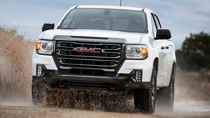 2021 GMC Canyon AT4 appearance
