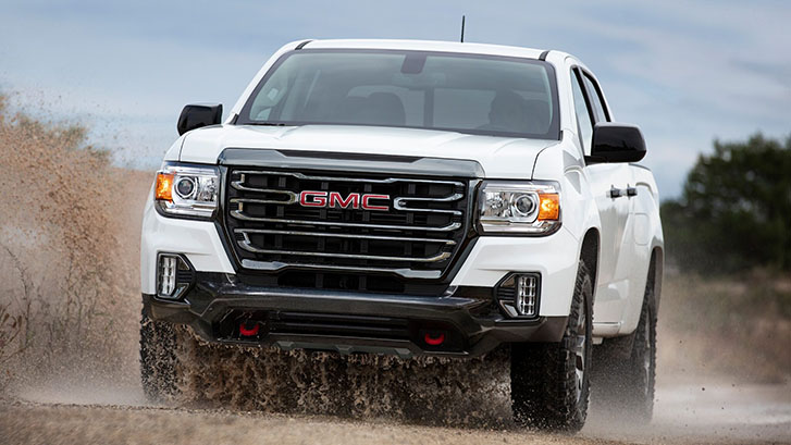 2021 GMC Canyon AT4 performance