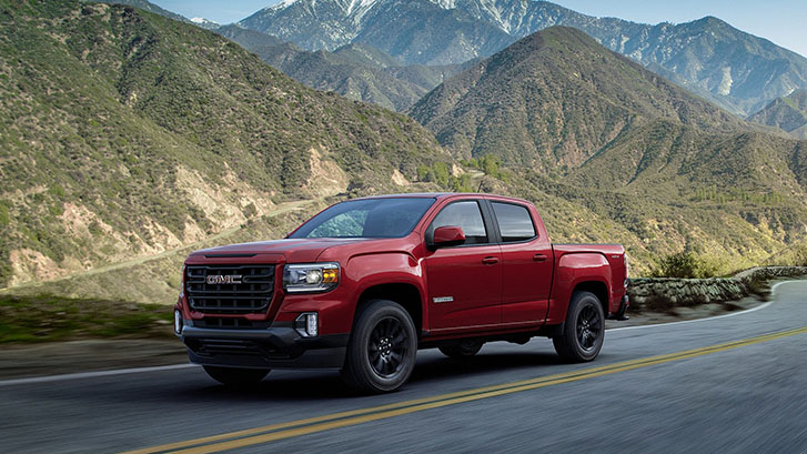 2021 GMC Canyon Elevation performance