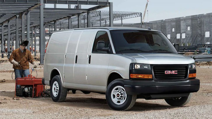 2021 GMC Savana Cargo performance