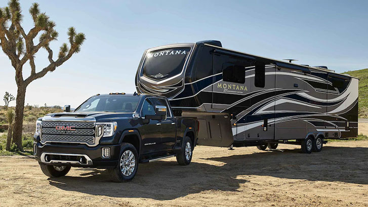 2021 GMC Sierra 3500HD Denali performance