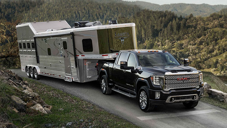 2021 GMC Sierra 3500HD Denali safety