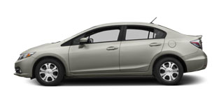 2015 Honda Civic Hybrid For Sale in Rome