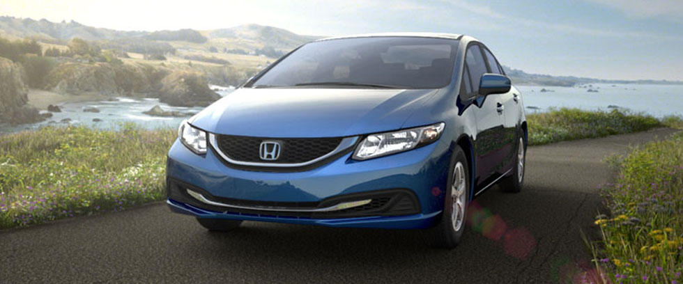 2015 Honda Civic Natural Gas Appearance Main Img