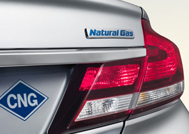 2015 Honda Civic Natural Gas appearance