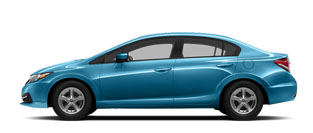 2015 Honda Civic Natural Gas For Sale in Rome