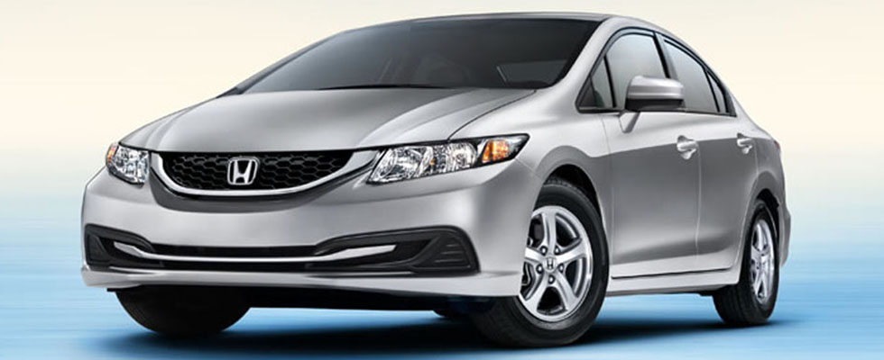 2015 Honda Civic Natural Gas For Sale in