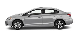 2015 Honda Civic Sedan For Sale in Rome
