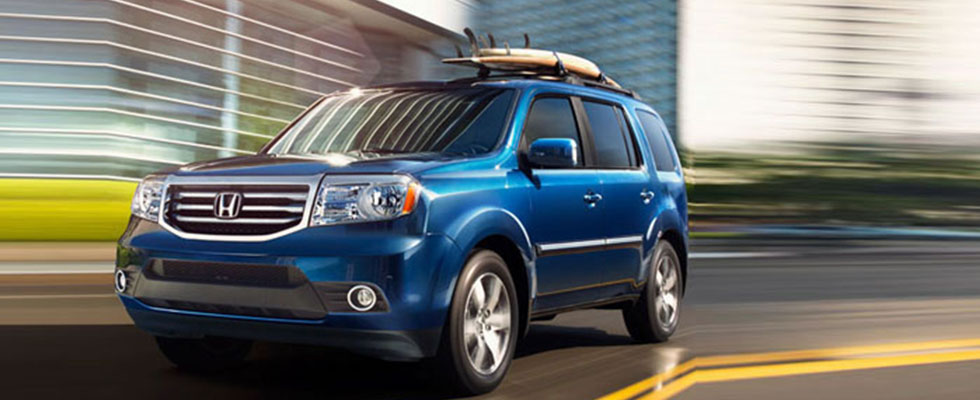 2015 Honda Pilot Safety Main Img