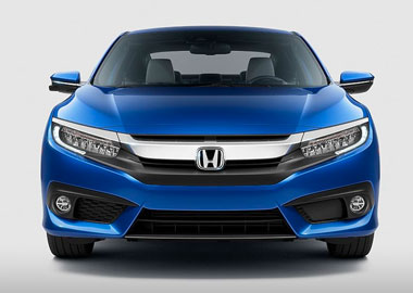 2016 Honda Civic Coupe headlights