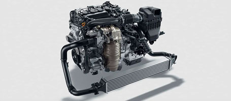 2016 Honda Civic Coupe engine