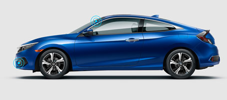 2016 Honda Civic Coupe Honda Sensing