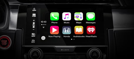 2016 Honda Civic Apple CarPlay
