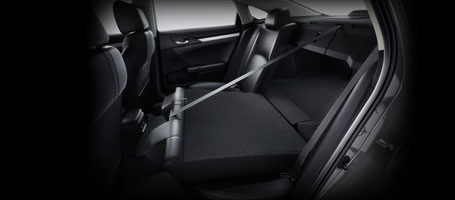 2016 Honda Civic Rear Seats