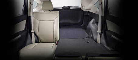 2016 Honda CR-V Rear Seats