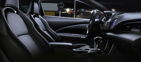 2016 Honda CR-Z Leather-Trimmed Seats