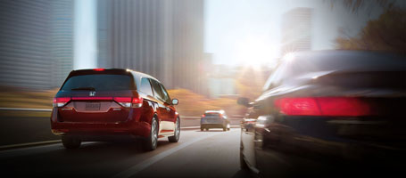 2016 Honda Odyssey Lane Departure Warning