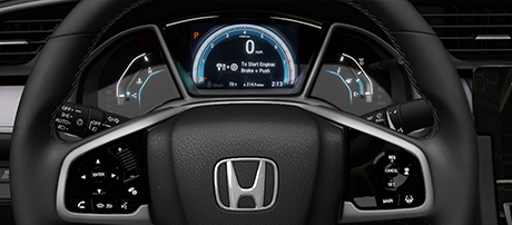 2017 Honda Civic Coupe performance
