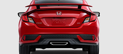 2017 Honda Civic Si Coupe comfort