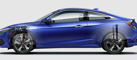 2017 Honda Civic Si Coupe safety