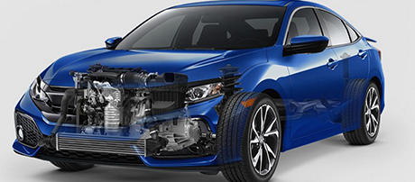 2017 Honda Civic Si Sedan performance
