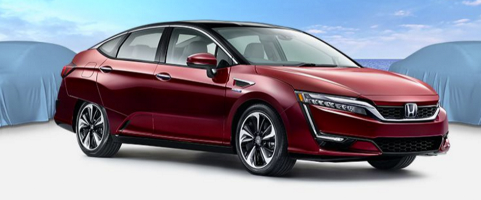 2017 Honda Clarity Fuel Cell Appearance Main Img