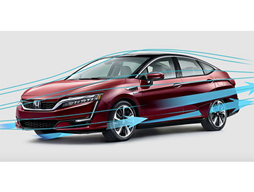 2017 Honda Clarity Fuel Cell appearance
