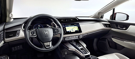 2017 Honda Clarity Fuel Cell comfort