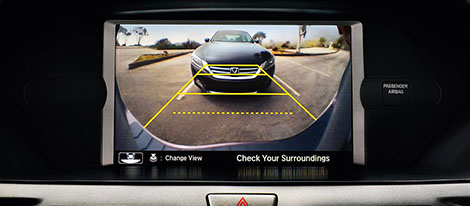 Rearview Camera with Guidelines