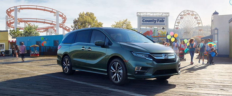 2018 Odyssey appearance image