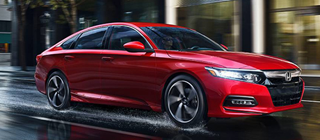 2018 Honda Accord Sedan performance