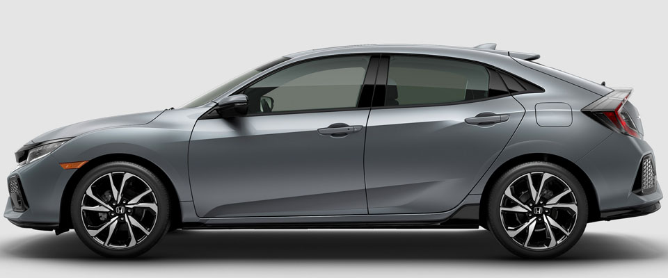 2018 Honda Civic Hatchback Appearance Main Img