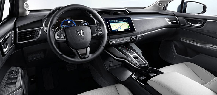 2018 Honda Clarity Electric comfort
