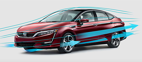 2018 Honda Clarity Fuel Cell performance
