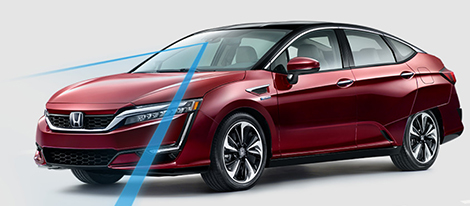 2018 Honda Clarity Fuel Cell safety