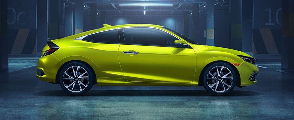 2019 Honda Civic Coupe Appearance Main Img