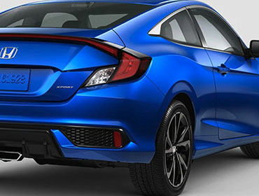 2019 Honda Civic Coupe appearance