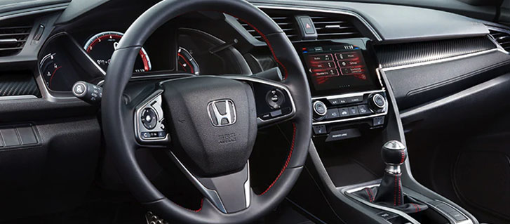 2019 Honda Civic Si Coupe comfort