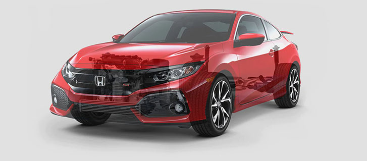2019 Honda Civic Si Coupe performance