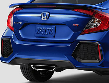 2019 Honda Civic Si Sedan appearance