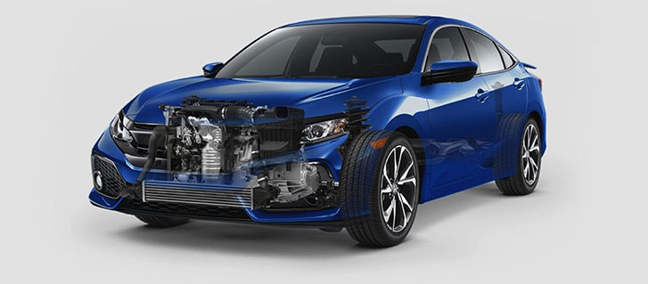 2019 Honda Civic Si Sedan performance