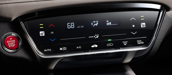 2019 Honda HR-V Crossover touch-based automatic climate control system