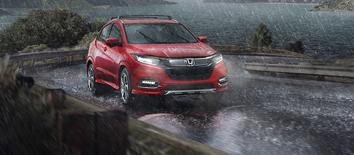 2019 Honda HR-V Crossover all-wheel-drive system