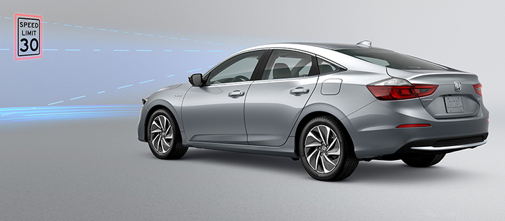 2019 Honda Insight Traffic Sign Recognition