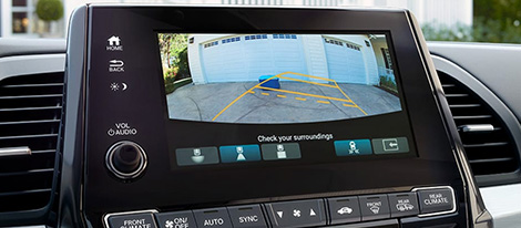 2019 Honda Odyssey Multi-Angle Rearview Camera