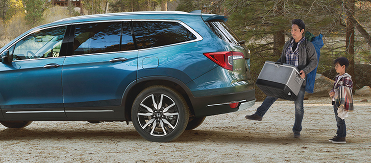 2019 Honda Pilot Hands-Free Access Power Tailgate