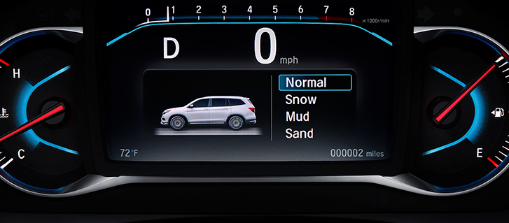 2019 Honda Pilot Intelligent Traction Management